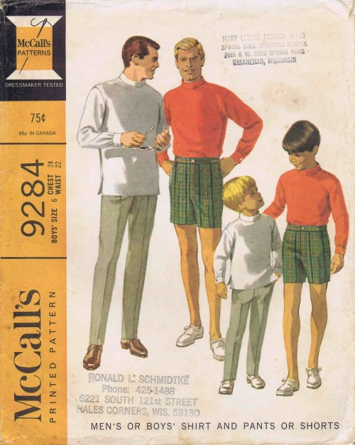 McCall's 9284