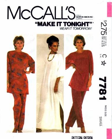 McCall's 7781