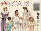 McCall's 3592 B