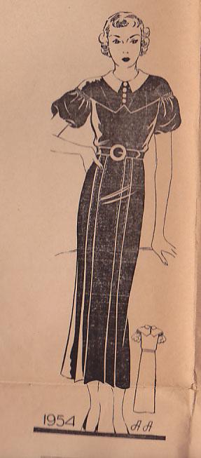 Anne Adams 1954