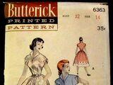 Butterick 6363