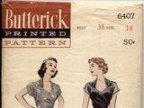 Butterick 6407