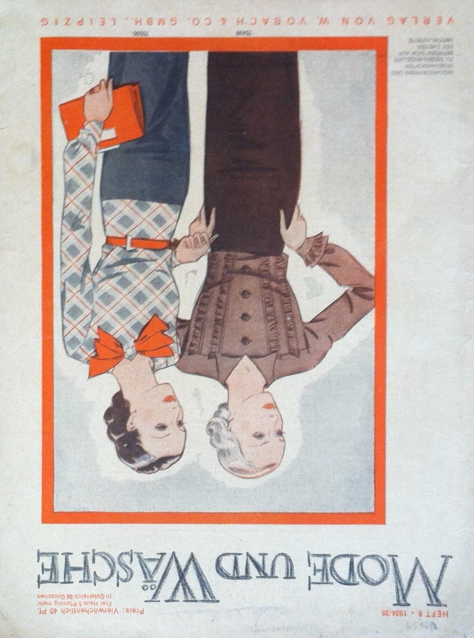 Mode und Wäsche No. 6 1934/35