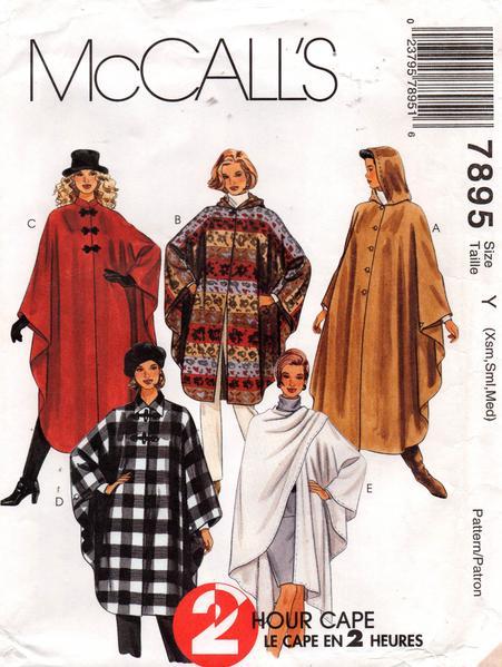 McCall's 7895 B