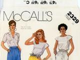 McCall's 2329 A