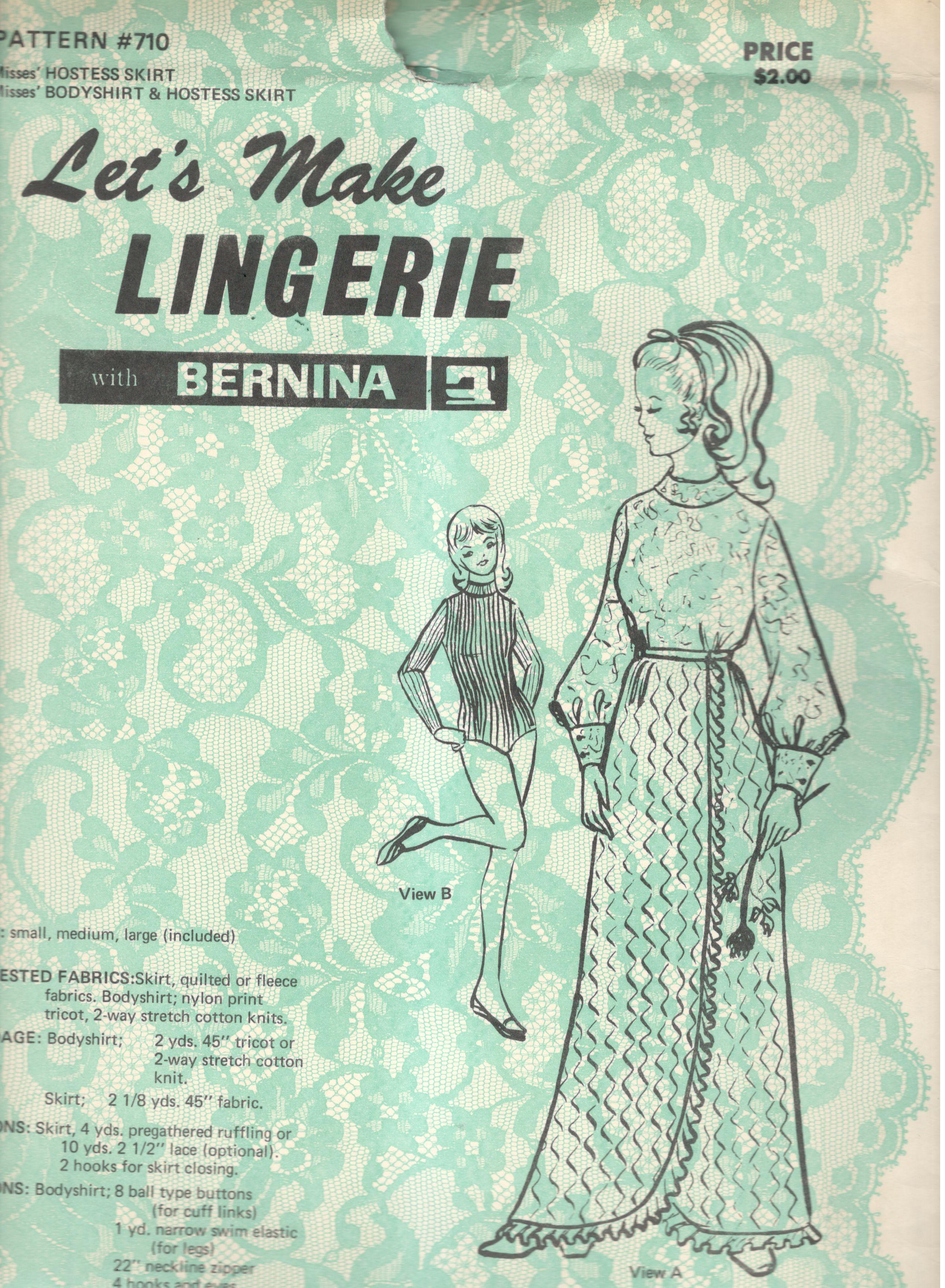 Let's Make Lingerie 710