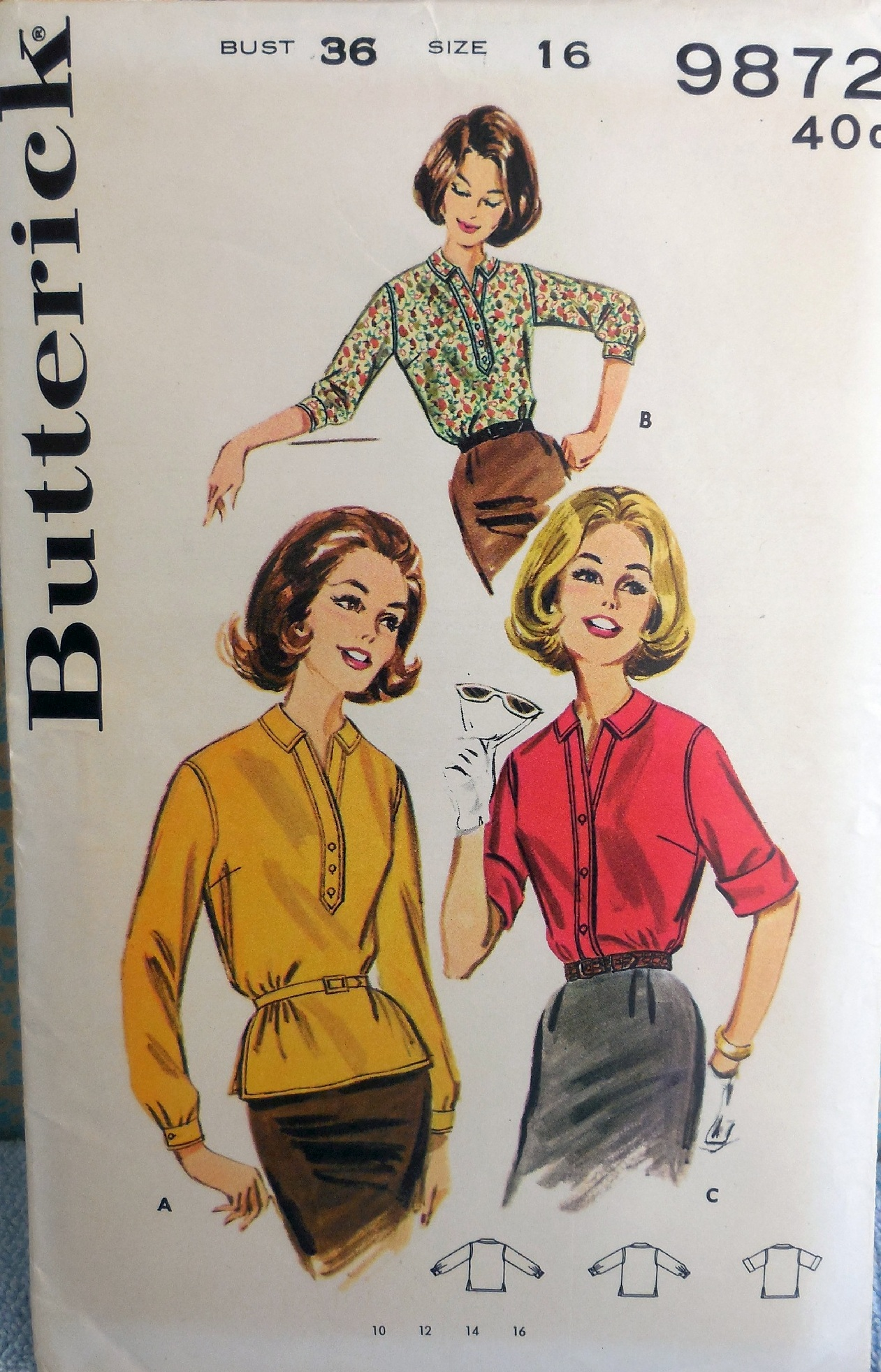 Butterick 9872