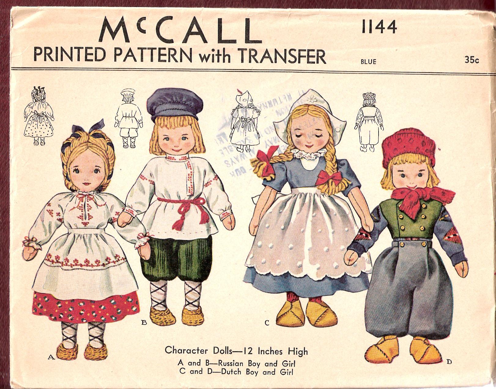 McCall 1144