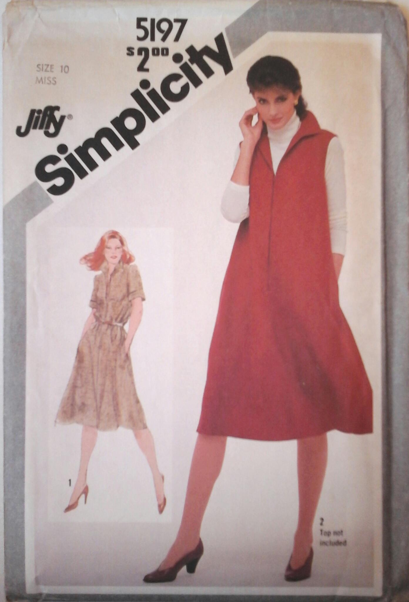 Simplicity 5197 B