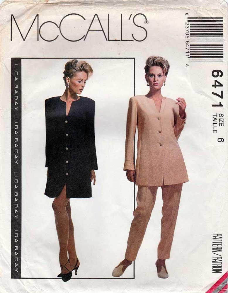 McCall's 6471 A