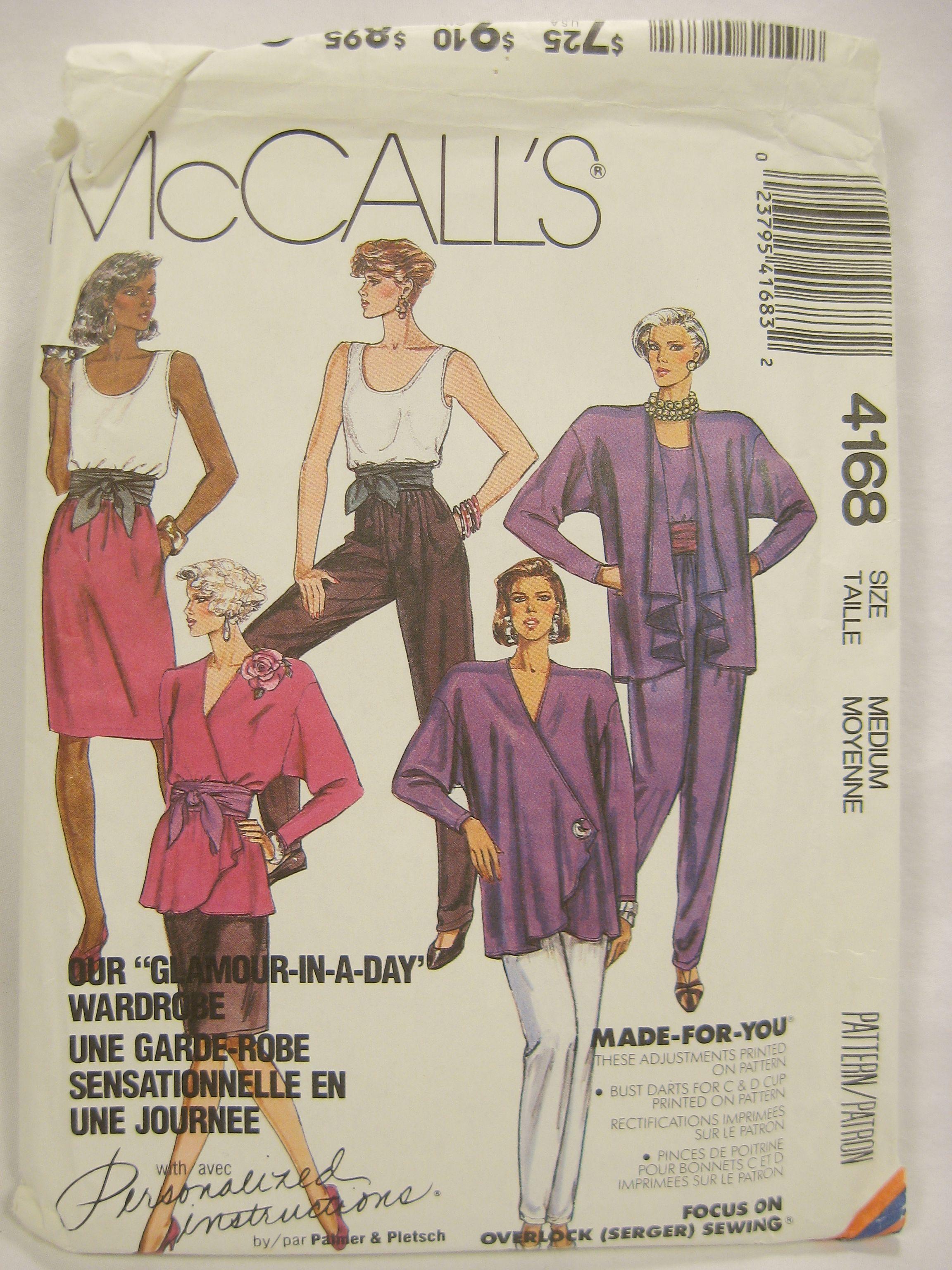 McCall's 4168 A