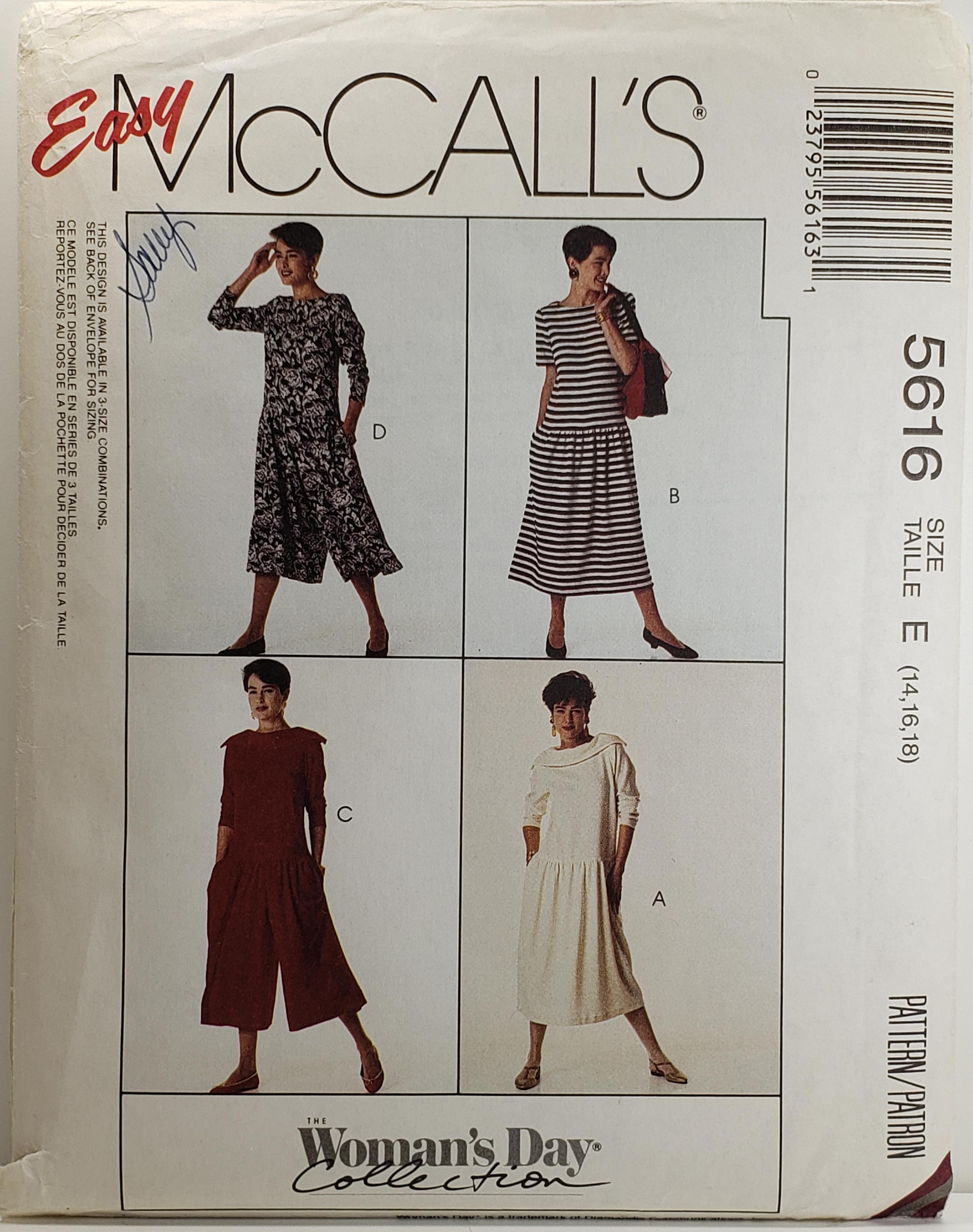 McCall's 5616 B