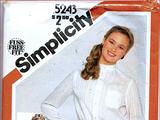 Simplicity 5243 A