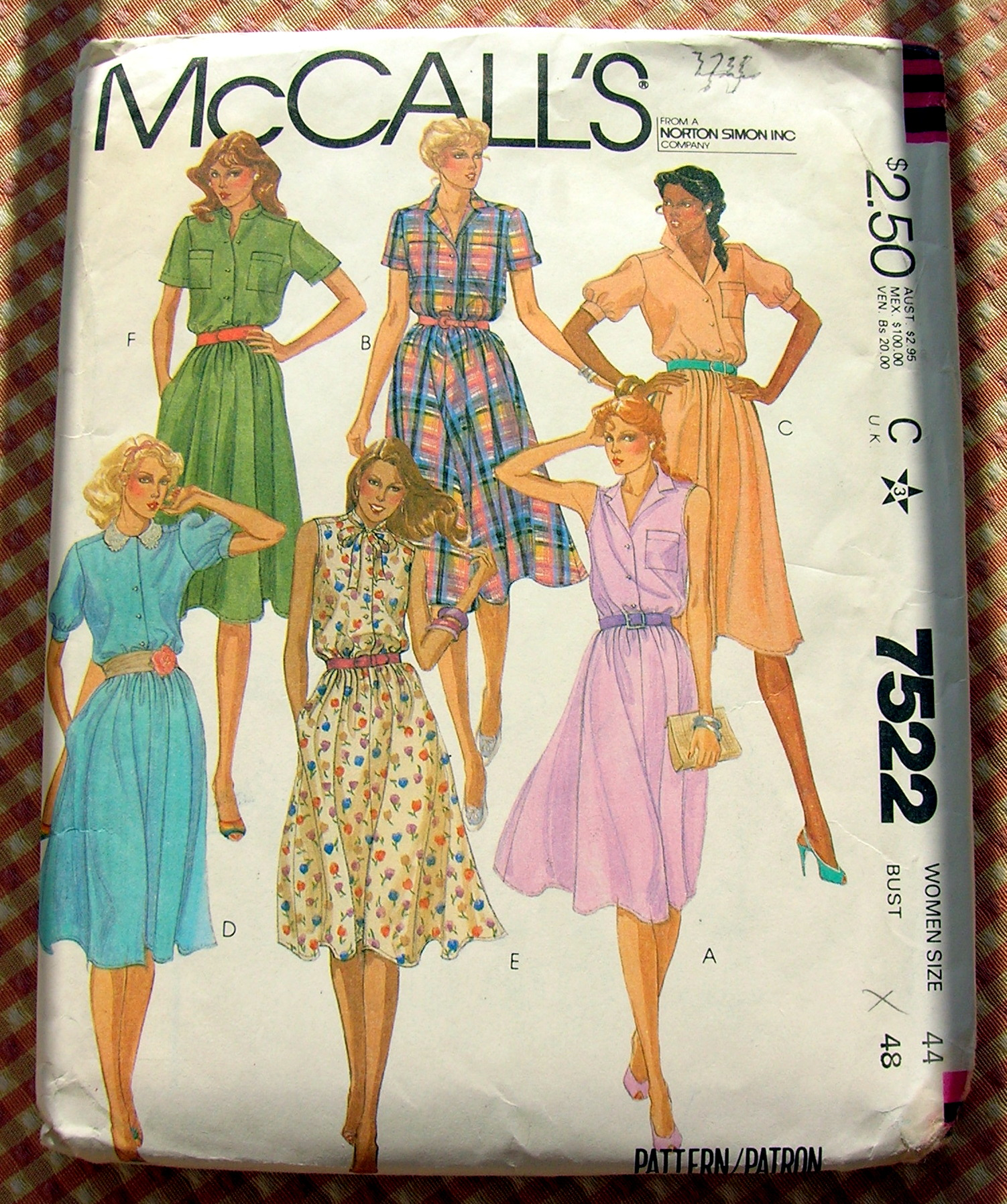 McCall's 7522 A