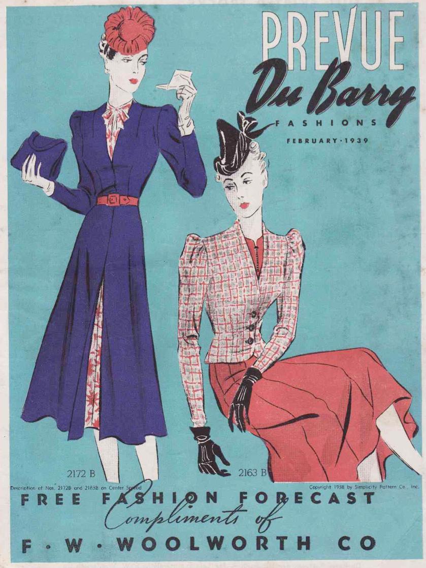 DuBarry Prevue February 1939