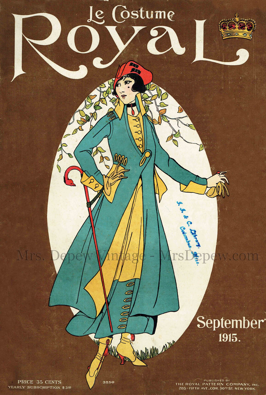 Le Costume Royal September 1915