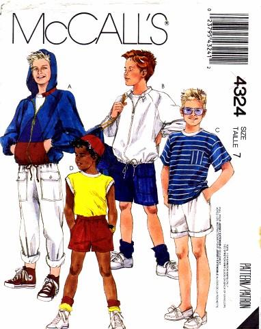 McCall's 4324 A
