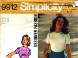 Simplicity 9912