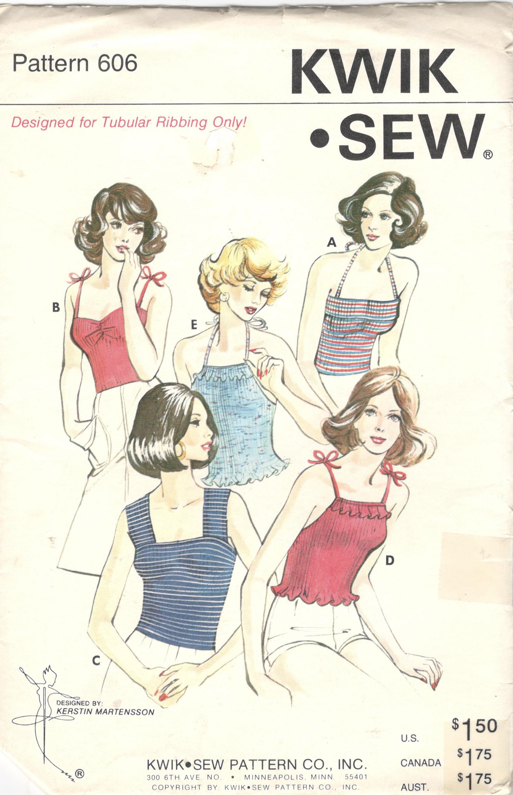 Kwik Sew 606
