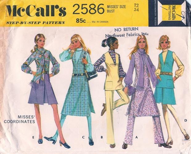 McCall's 2586