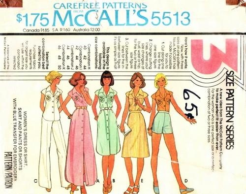 McCall's 5513 A