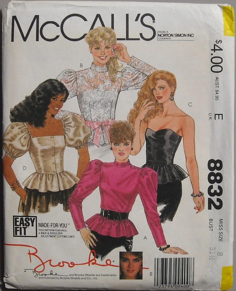 McCall's 8832
