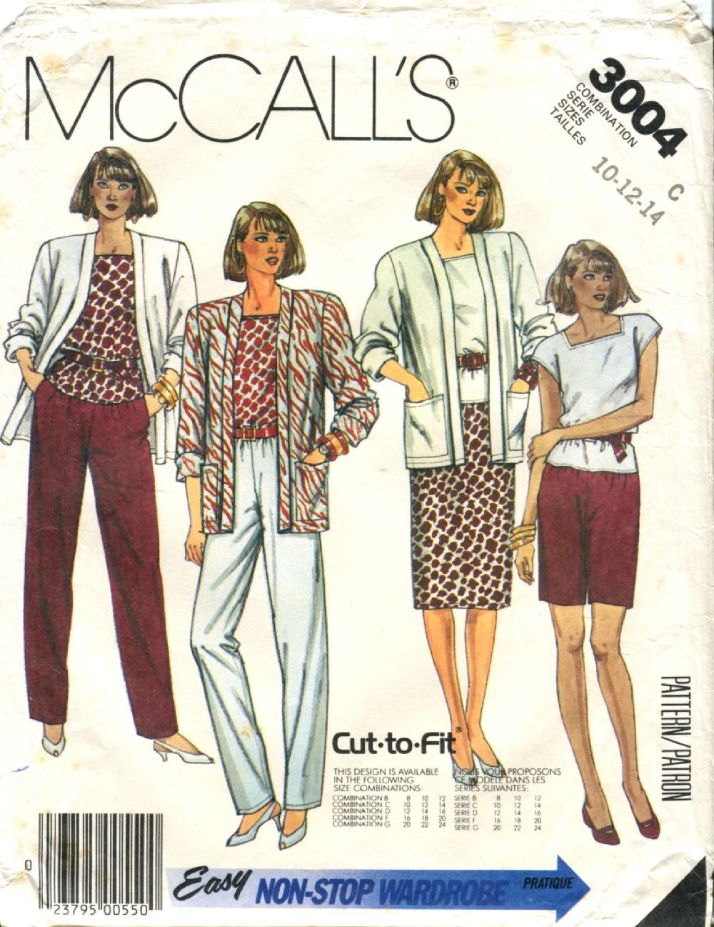 McCall's 3004 A