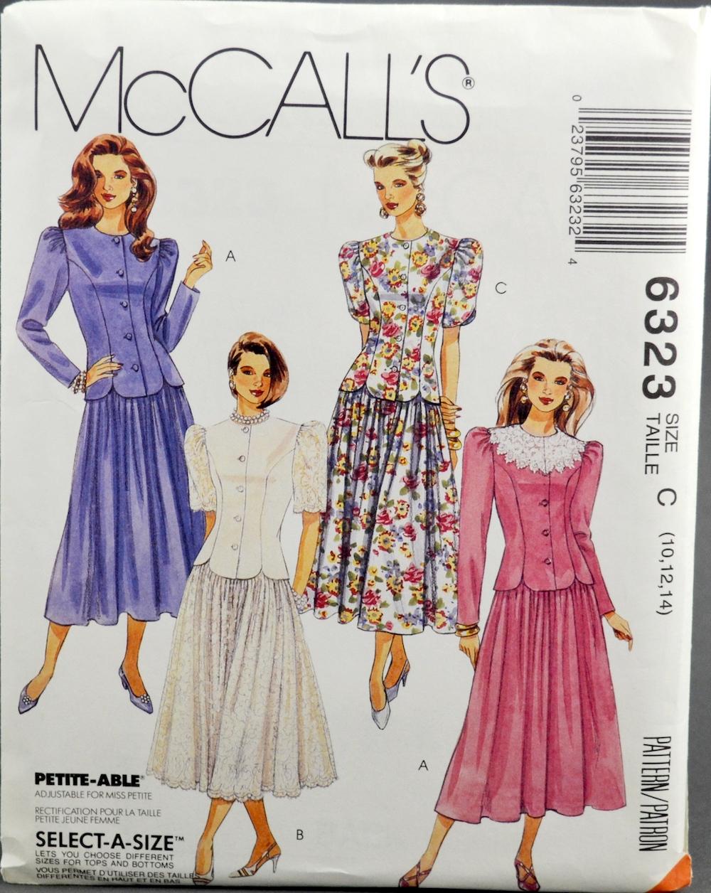 McCall's 6323 B