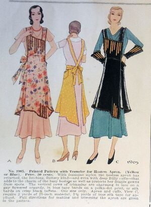 As featured in the August 1931 McCall catalog
