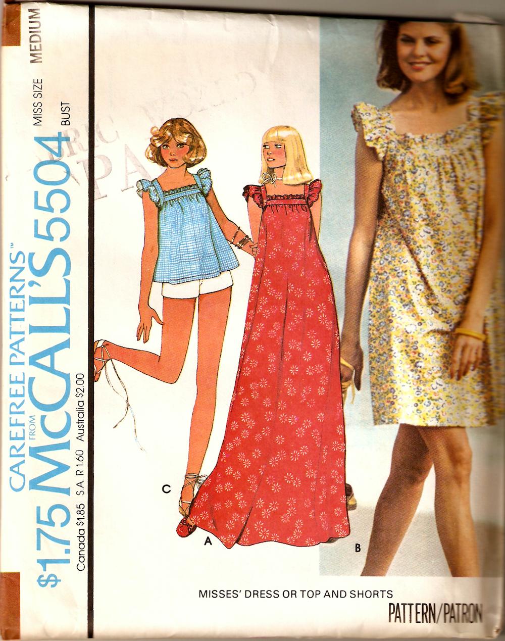McCall's 5504