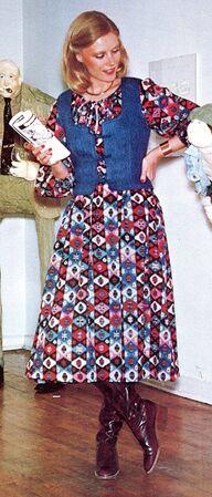 Vogue 9871 pattern dress vest 1
