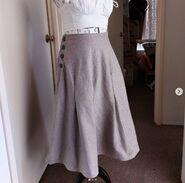 21 Australia Home Journal Paper Patterns 12166 - skirt