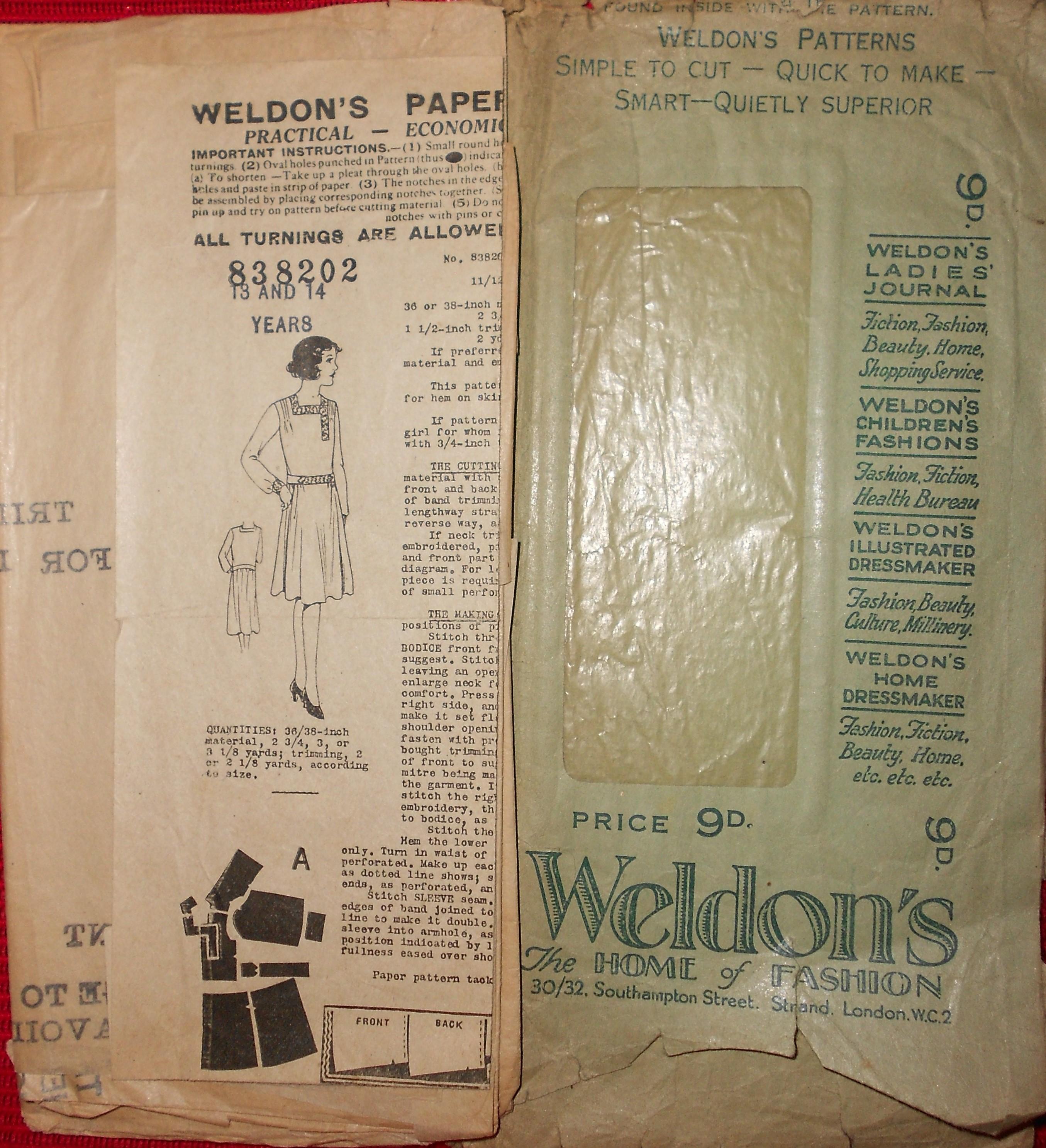 Weldons 838202