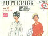 Butterick 4787 B