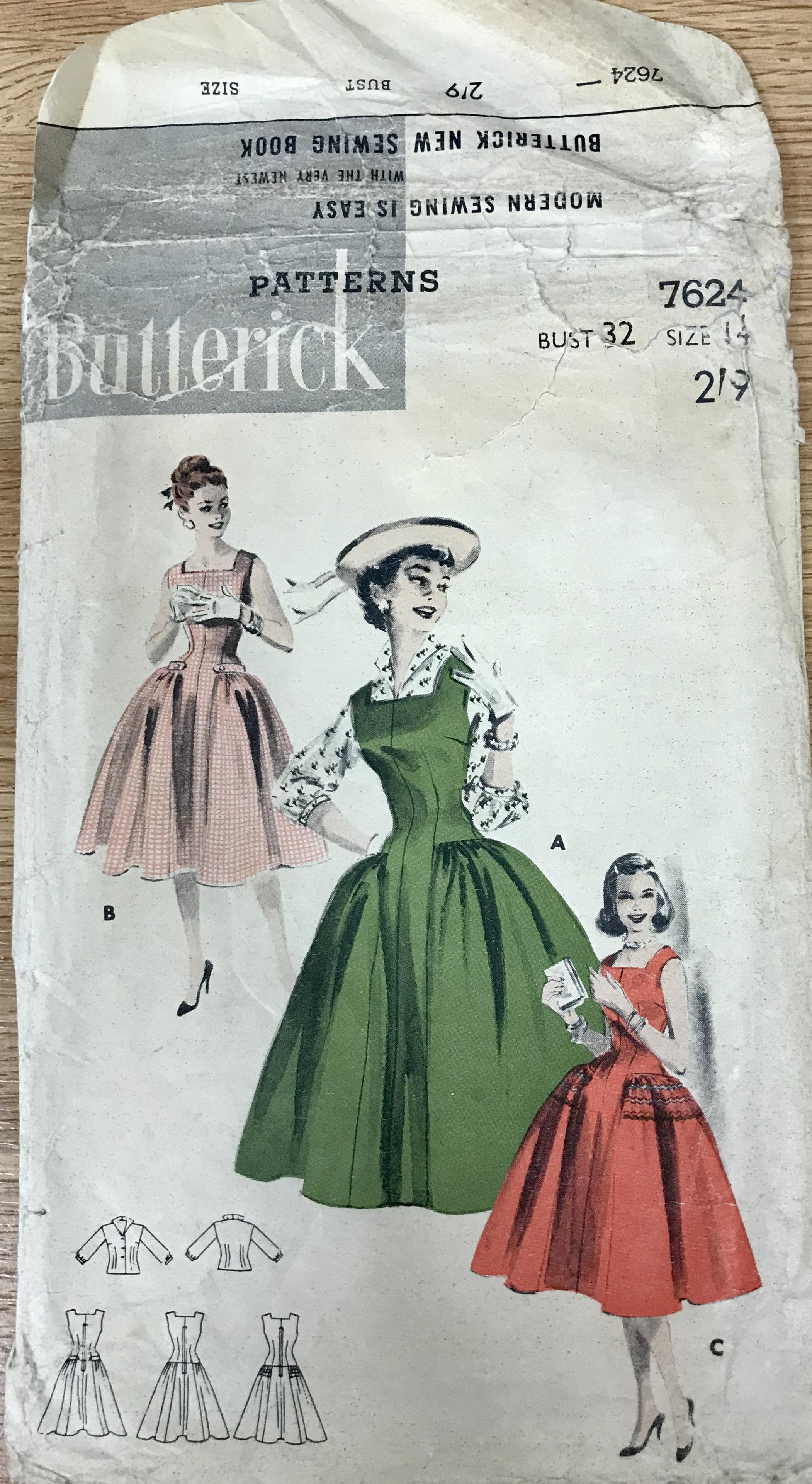 Butterick 7624