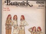 Butterick 6996 A