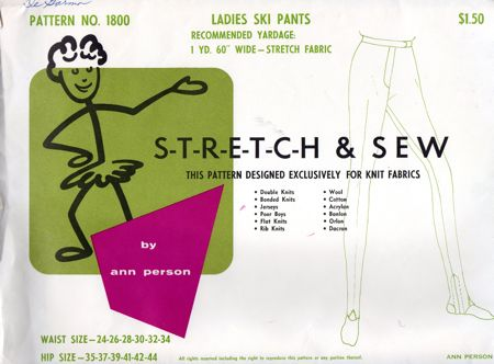 Stretch & Sew 1800