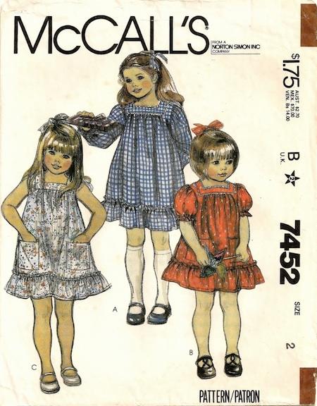 McCall's 7452