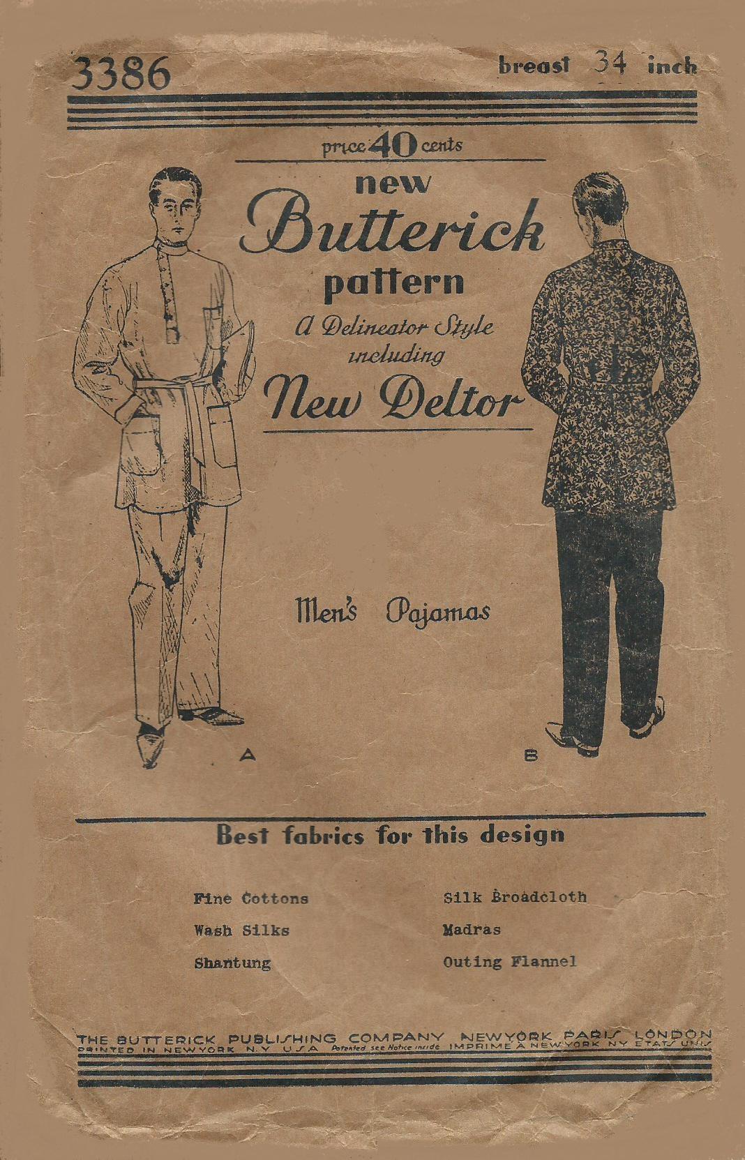 Butterick 3386 C