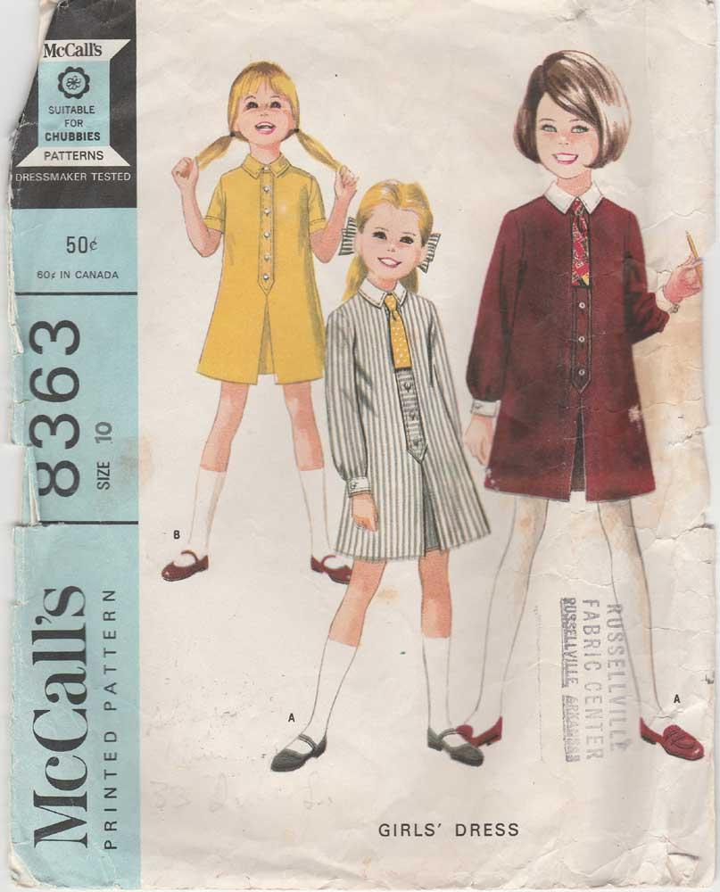 McCall's 8363 A