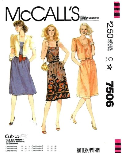 McCall's 7506 A