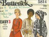 Butterick 5814