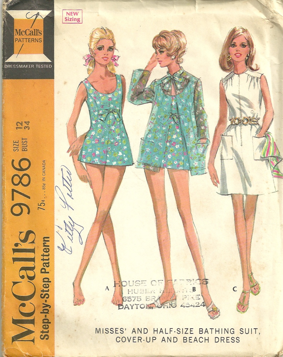 McCall's 9786