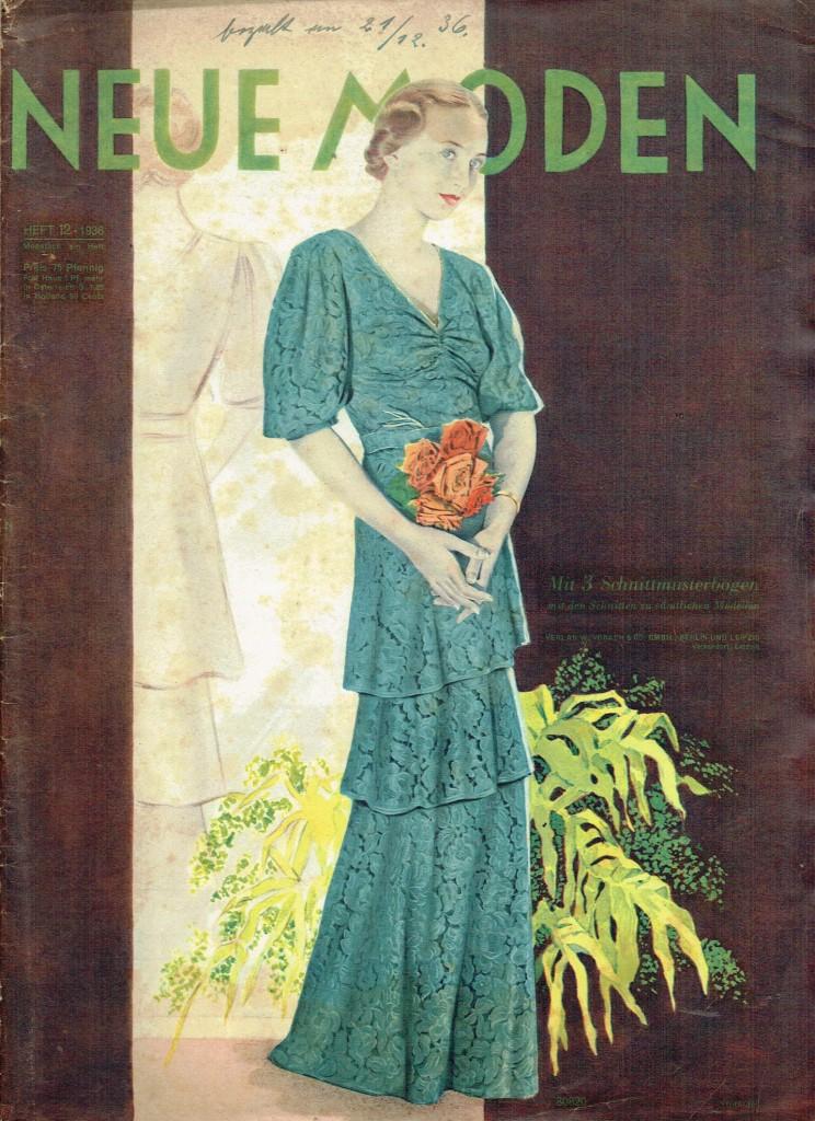 Neue Moden No. 12 1936