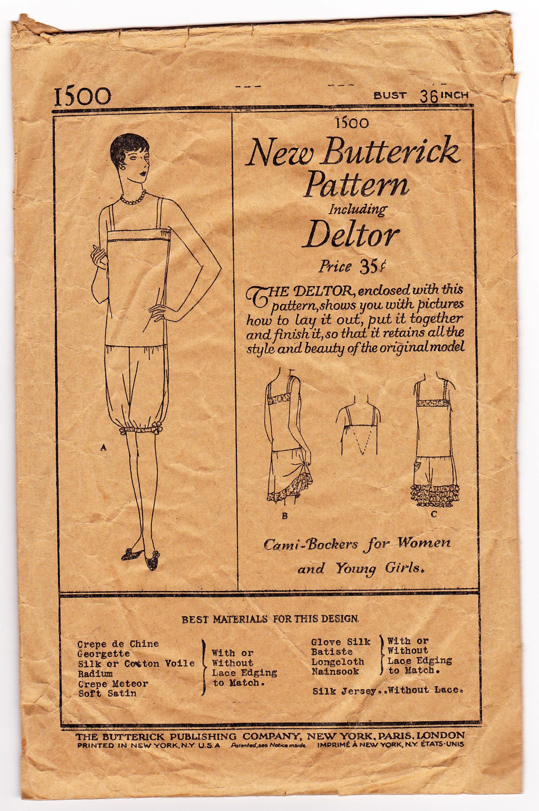 Butterick 1500