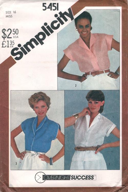 Simplicity 5451 B