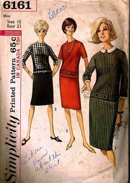 Simplicity 6161. Copyright 1965.