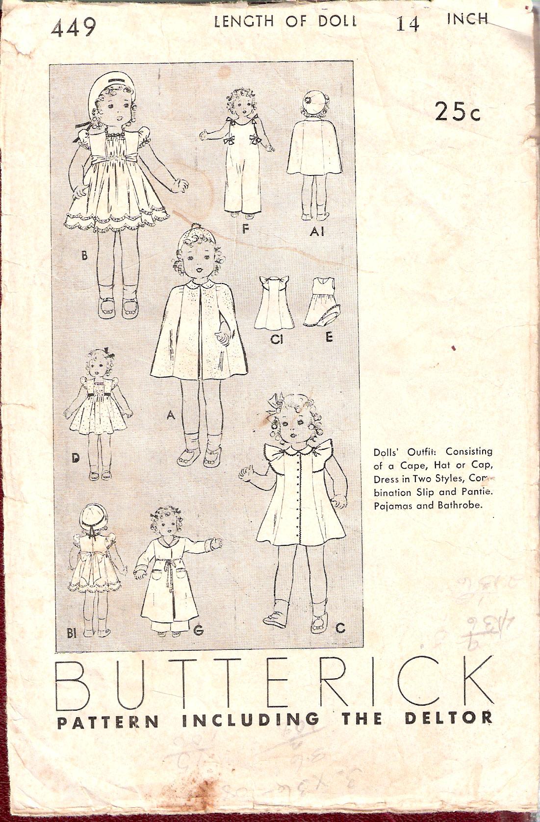 Butterick 449