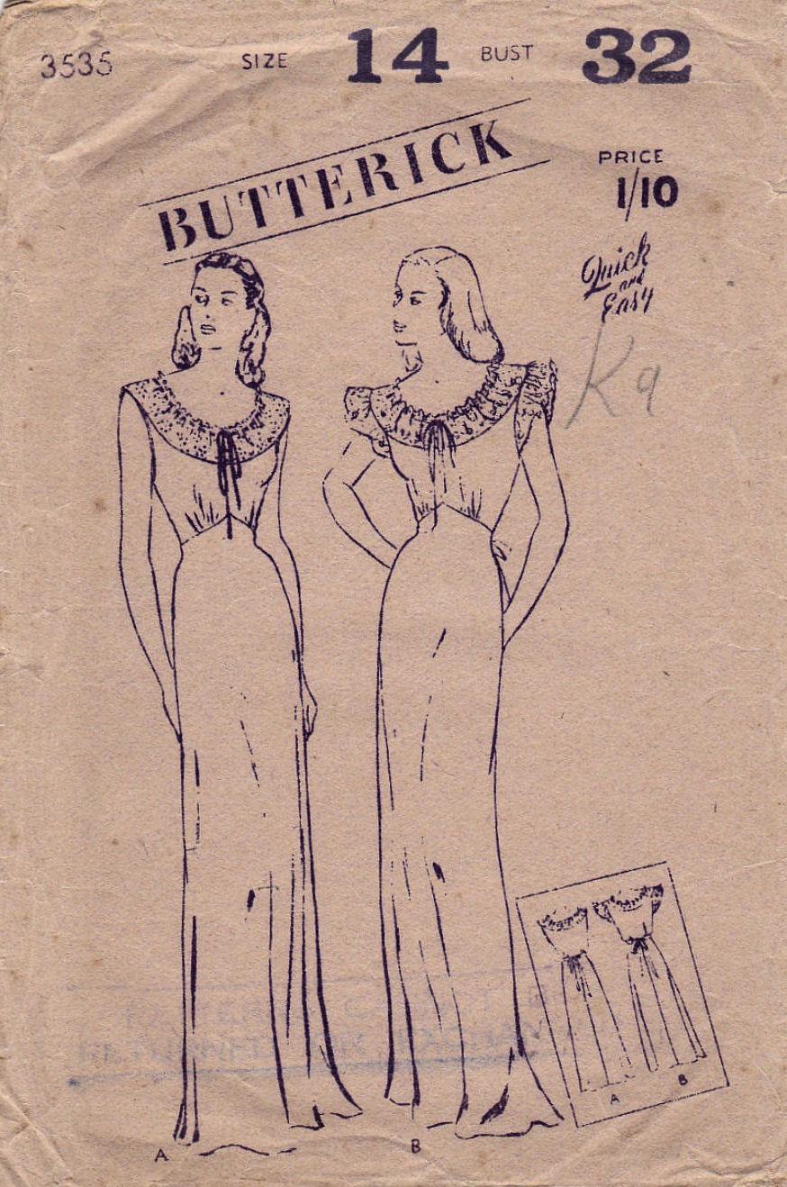 Butterick 3535 D