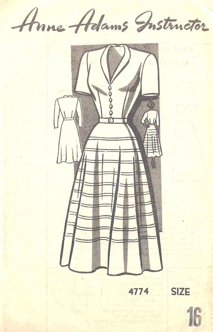 Anne Adams 4774 B